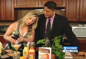 Party Girl diet Author Aprilanne Hurley & Hawaii News Now Host Steve Uyhara Mix it Up Live!