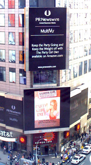 Party Girl Diet Kicks Off Big City Tour with Debut in Times Square, New York