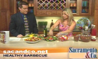 ABC 10 Sac & Co host Guy Ferris and Aprilanne Hurley get cooking in the kitchen